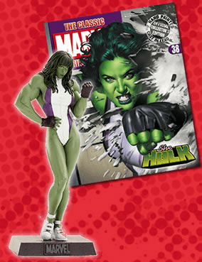 Classic Marvel Figurine Collection Magazine She Hulk #38