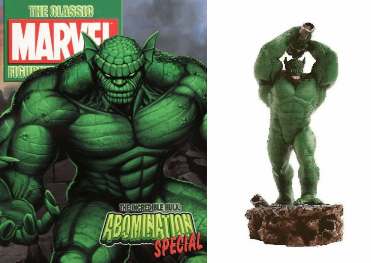 Classic Marvel Figurine Collection Magazine Special Abomination