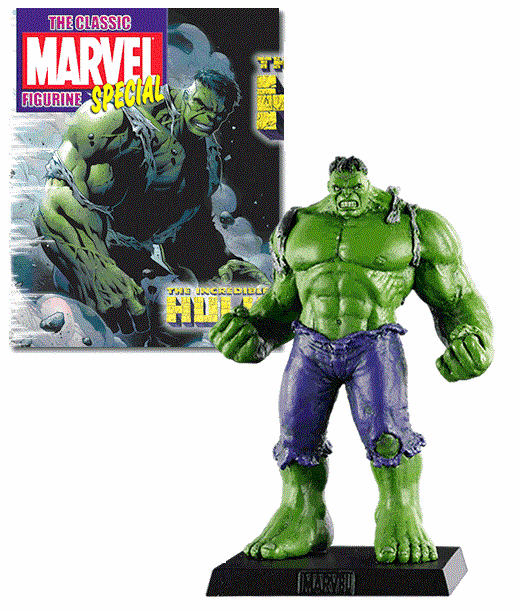 Classic Marvel Figurine Collection Magazine Special Hulk