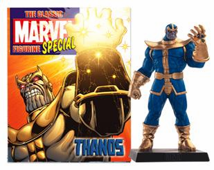 Classic Marvel Figurine Collection Magazine Special Thanos