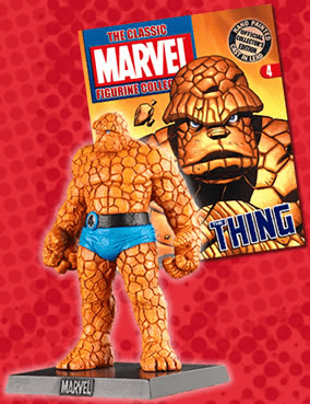 Classic Marvel Figurine Collection Magazine The Thing #04