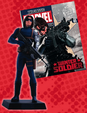 Classic Marvel Figurine Collection Magazine Winter Soldier #85