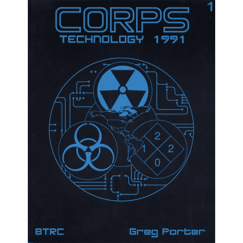 CORPS RPG Technology 1991 Sourcebook