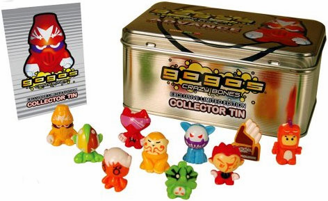 Crazy Bones Gogo's Advance Special Edition Tin
