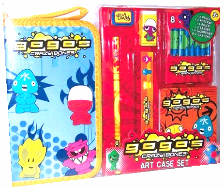 Crazy Bones Gogo's Art Case Set