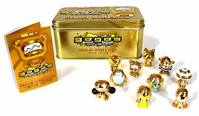 Crazy Bones Gogo's Gold Series Part 1 Tin