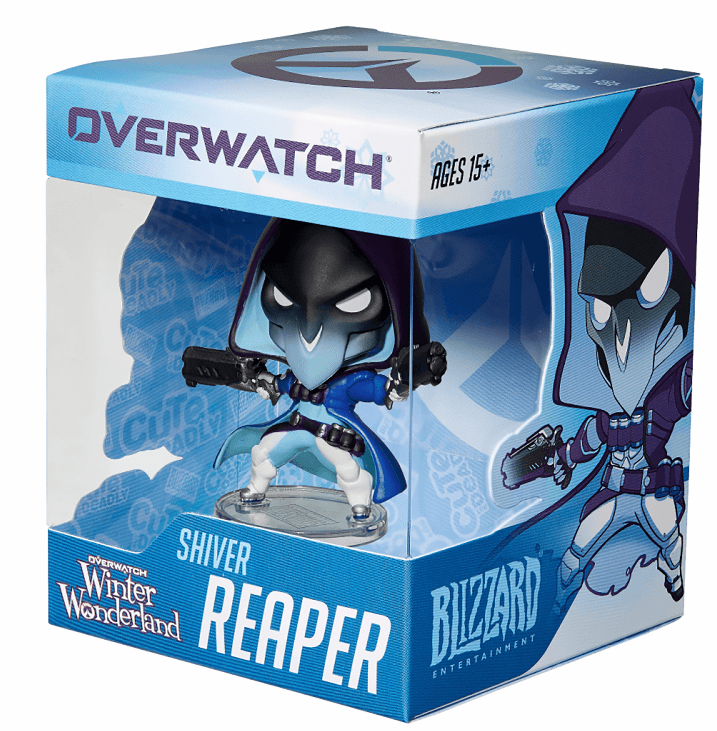 Cute But Deadly Overwatch Winter Wonderland Frosted Reaper Figure
