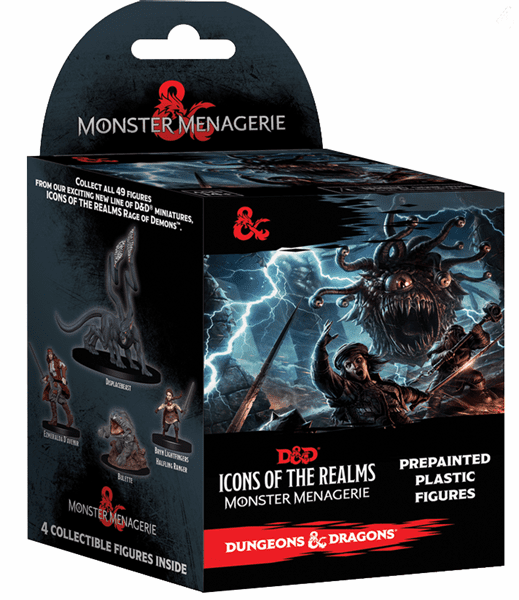 D&D Icons of the Realms Monster Menagerie Booster Standard Pack