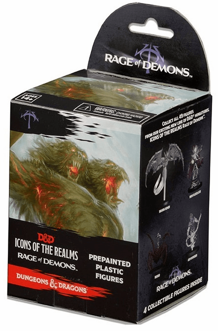 D&D Icons of the Realms Rage of Demons Booster Standard Pack