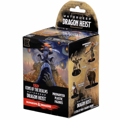 D&D Icons of the Realms Waterdeep Dragon Heist Booster Standard Pack