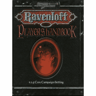 D&D Sword & Sorcery Ravenloft Player's Handbook Sourcebook