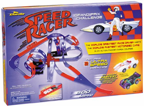 Darda Speed Racer Grand Prix Challenge Race Track Set