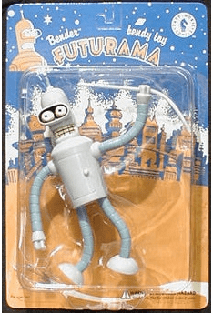 Dark Horse Comics Futurama Bender Bendy Figure