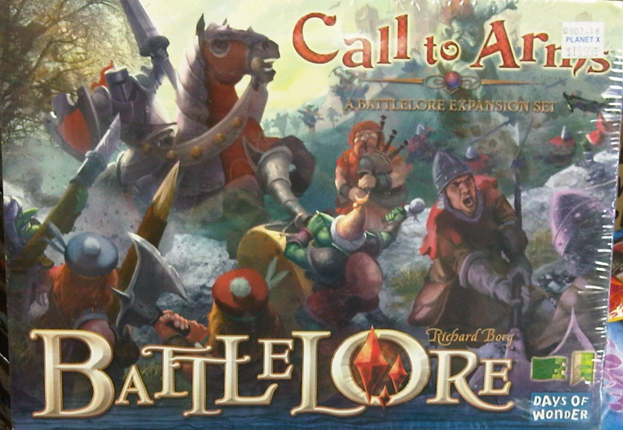 Days of Wonder Battlelore Calling to Arms Expansion Set