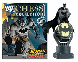 DC Chess Collection Batman Bat-Signal Special Magazine