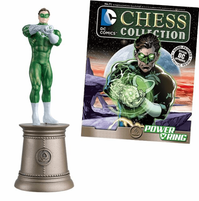 DC Chess Collection Black Bishop Power Ring Magazine #71