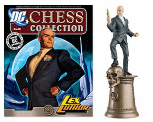 DC Chess Collection Black King Lex Luthor Magazine #38
