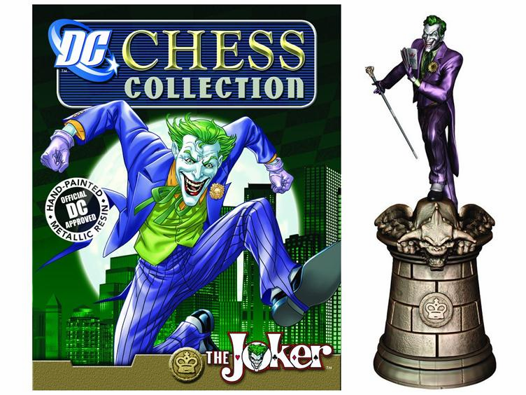 DC Chess Collection Black King The Joker Magazine #2