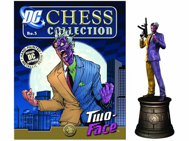 DC Chess Collection Black Knight Two-Face Magazine #6