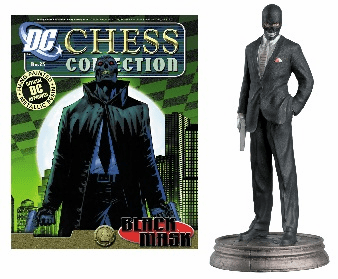 DC Chess Collection Black Pawn Black Mask Magazine #25