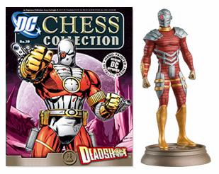 DC Chess Collection Black Pawn Deadshot Magazine #39