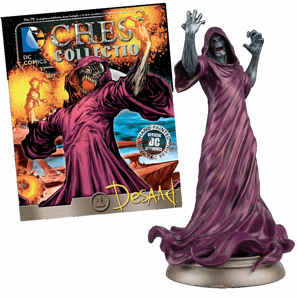 DC Chess Collection Black Pawn Desaad Magazine #78