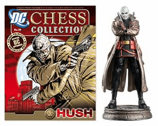 DC Chess Collection Black Pawn Hush Magazine #19