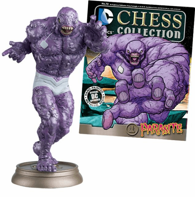 DC Chess Collection Black Pawn Parasite Magazine #72