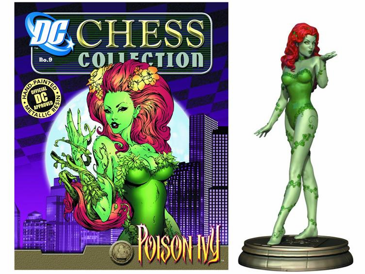 DC Chess Collection Black Pawn Poison Ivy Magazine #9