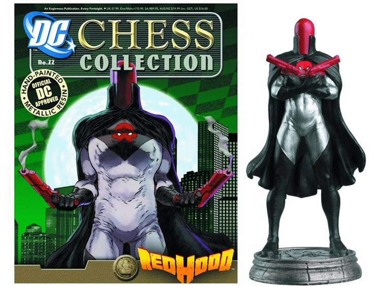 DC Chess Collection Black Pawn Red Hood Magazine #22