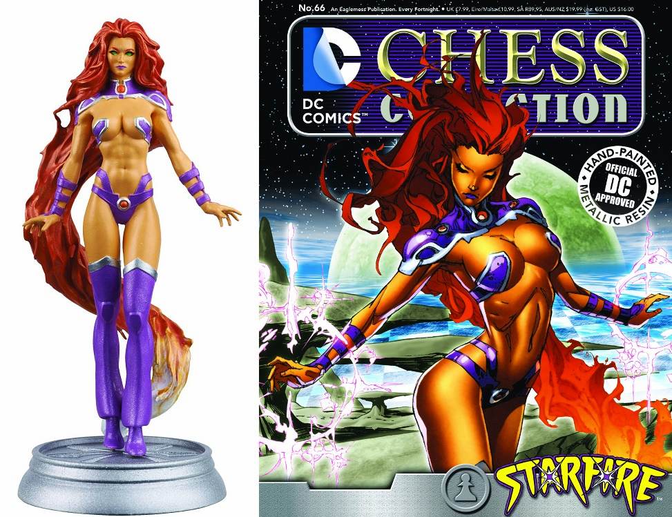 DC Chess Collection Black Pawn Starfire Magazine #66