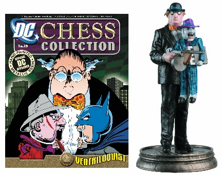 DC Chess Collection Black Pawn Ventriloquist Magazine #29