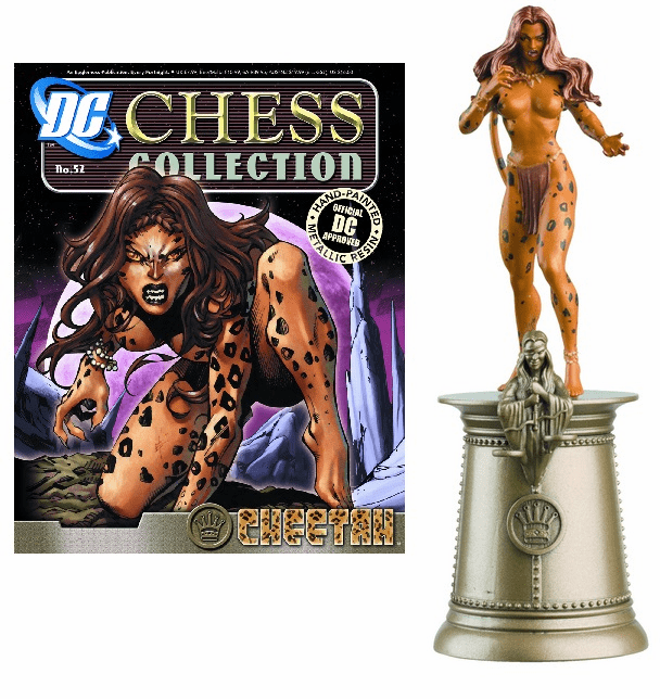 DC Chess Collection Black Queen Cheetah Magazine #52