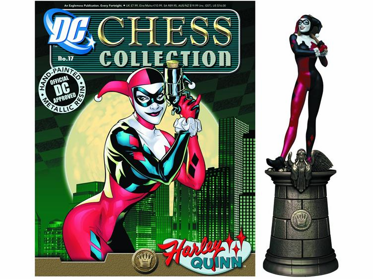 DC Chess Collection Black Queen Harley Quinn Magazine #17