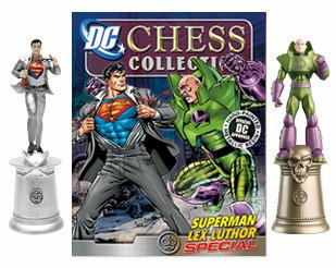 DC Chess Collection Superman and Lex Luthor Special Magazine