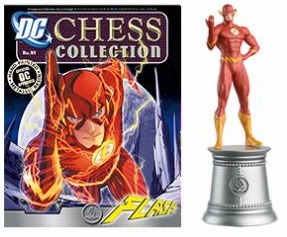 DC Chess Collection White Bishop Flash Magazine #41
