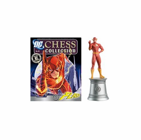 Statue 41 White Bishop Flash DC Comics Chess Collection Magazin