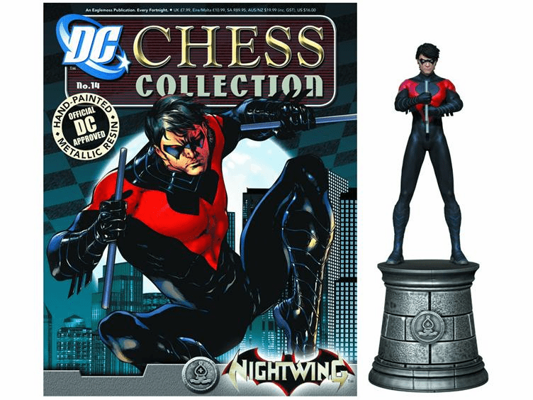 DC Chess Collection White Bishop Nightwing Magazine #14