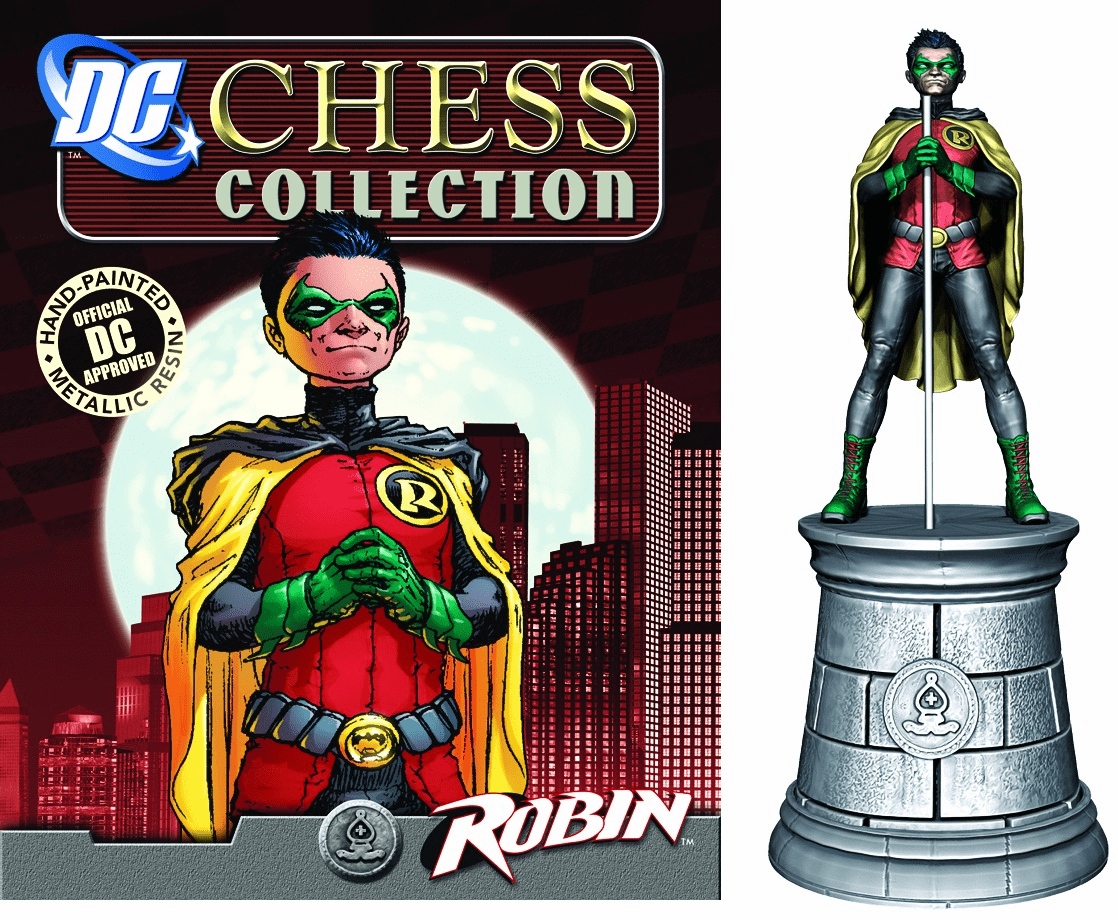 DC Chess Collection White Bishop Robin Magazine #3