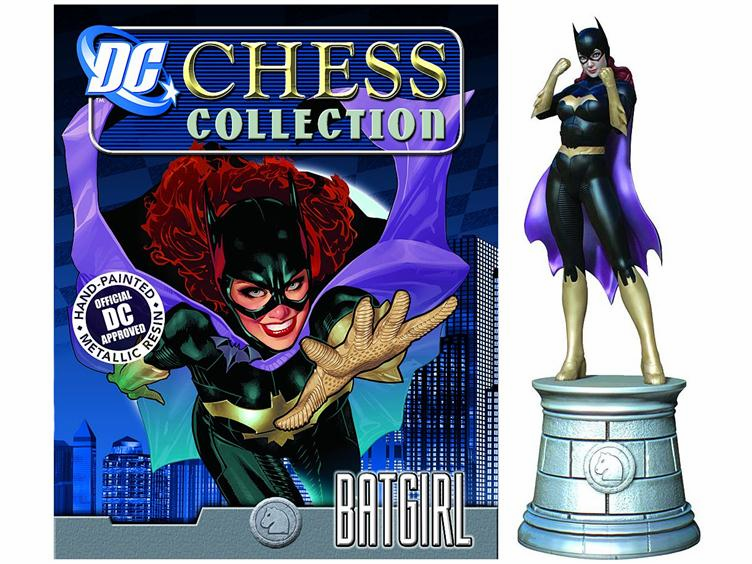 DC Chess Collection White Knight Batgirl Magazine #7