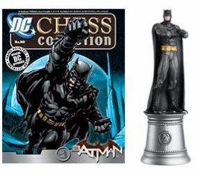 DC Chess Collection White Knight Batman Magazine #40