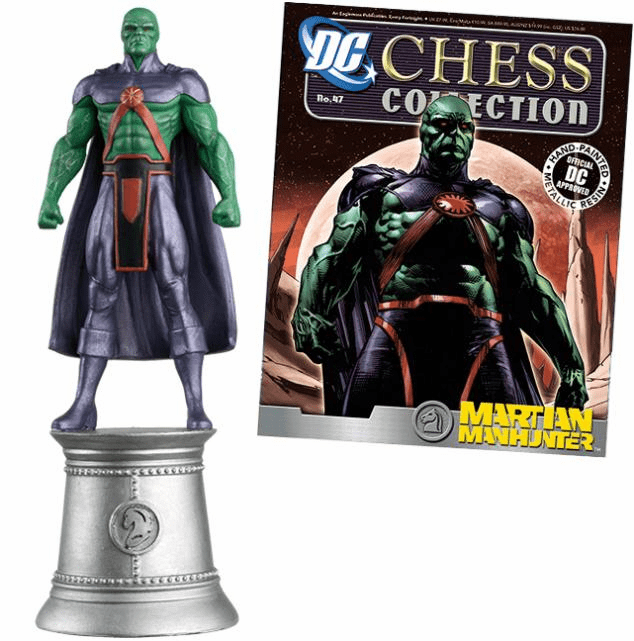 DC Chess Collection White Knight Martian Manhunter Magazine #47