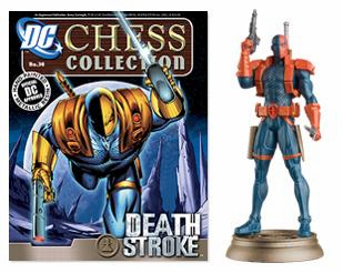 DC Chess Collection White Pawn Deathstroke Magazine #36