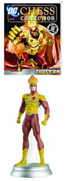 DC Chess Collection White Pawn Firestorm Magazine #53