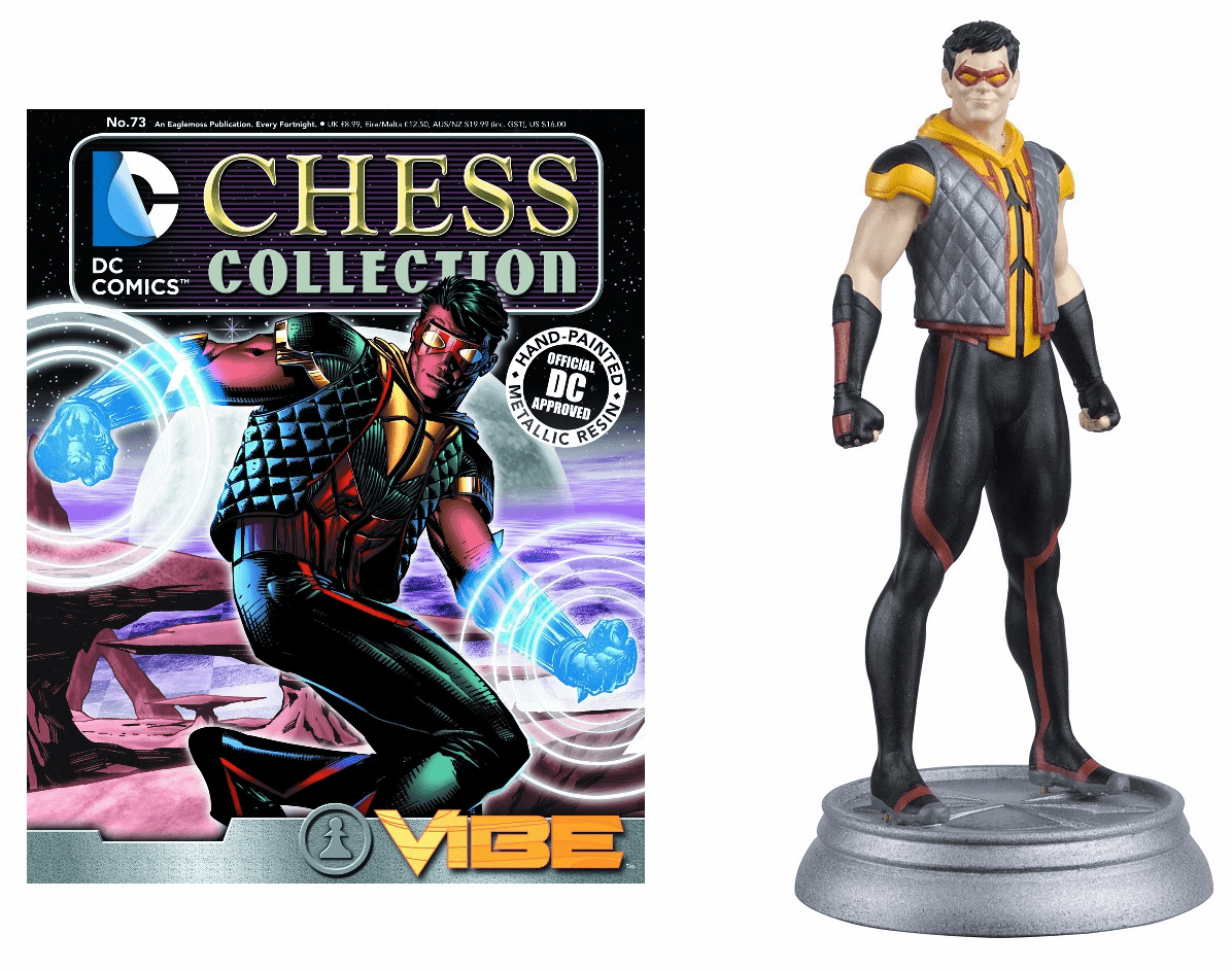 DC Chess Collection White Pawn Vibe Magazine #73