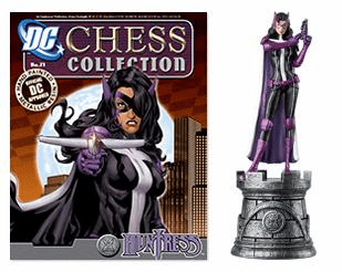 DC Chess Collection White Rook Huntress Magazine #21