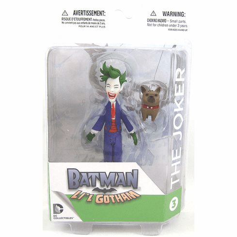 DC Collectibles Batman Li'l Gotham Joker Mini Figure