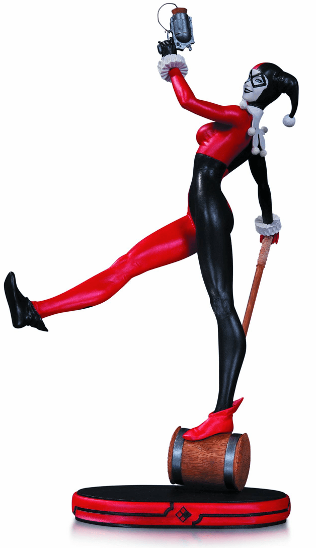 DC Collectibles Cover Girls Classic Harley Quinn Statue