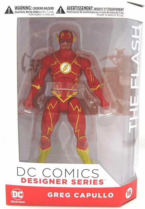 DC Collectibles Designer Series Greg Capullo The Flash Figure