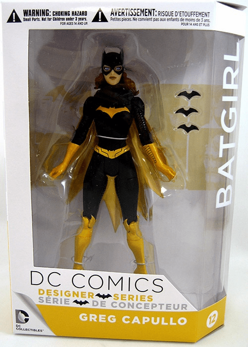 DC Collectibles Greg Capullo Designer Series Batgirl Figure
